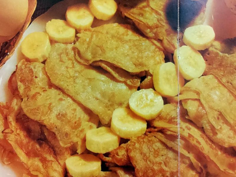 (星馬料理)香蕉薄煎糕
