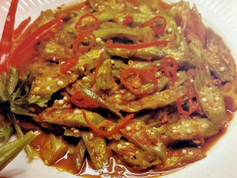(星馬料理)炒羊角豆
