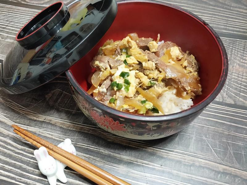 lanni 牛肉丼飯