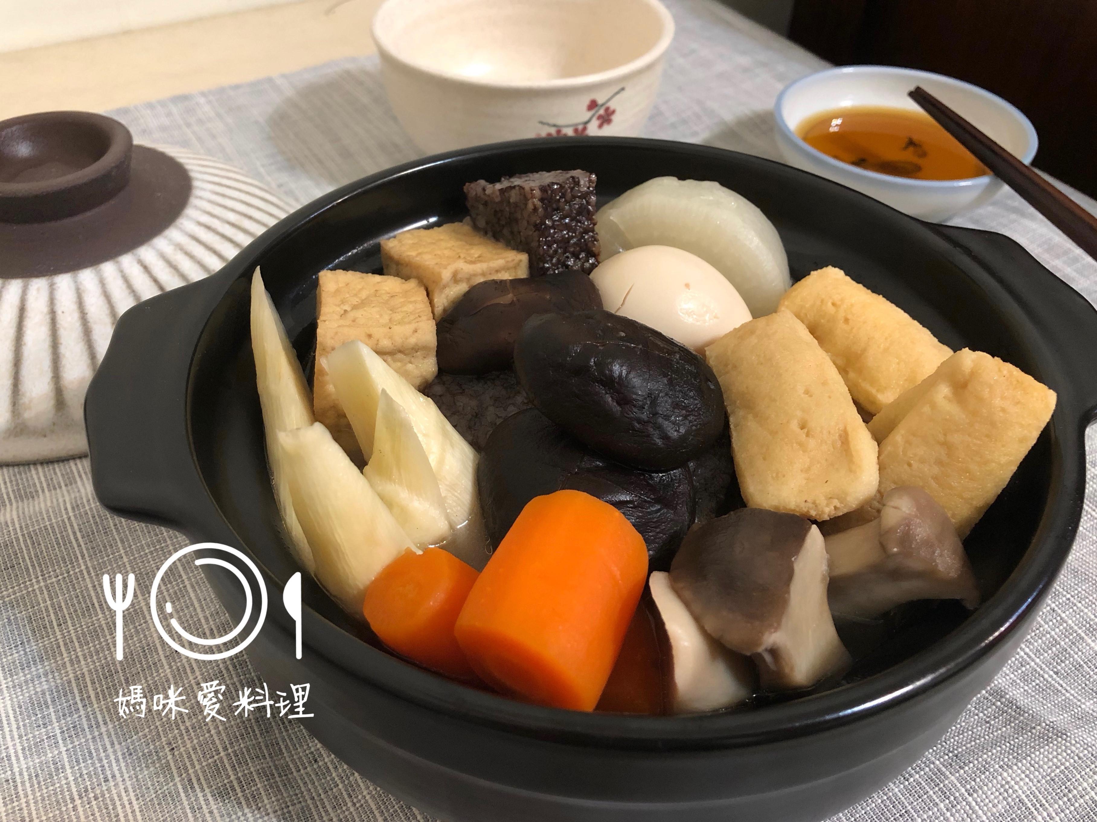 關東煮(柴魚昆布高湯)