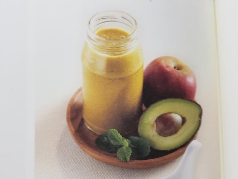 牛油果蘋果汁