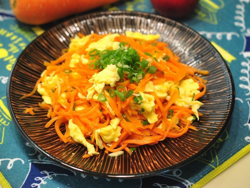 紅蘿蔔炒蛋(便當菜)