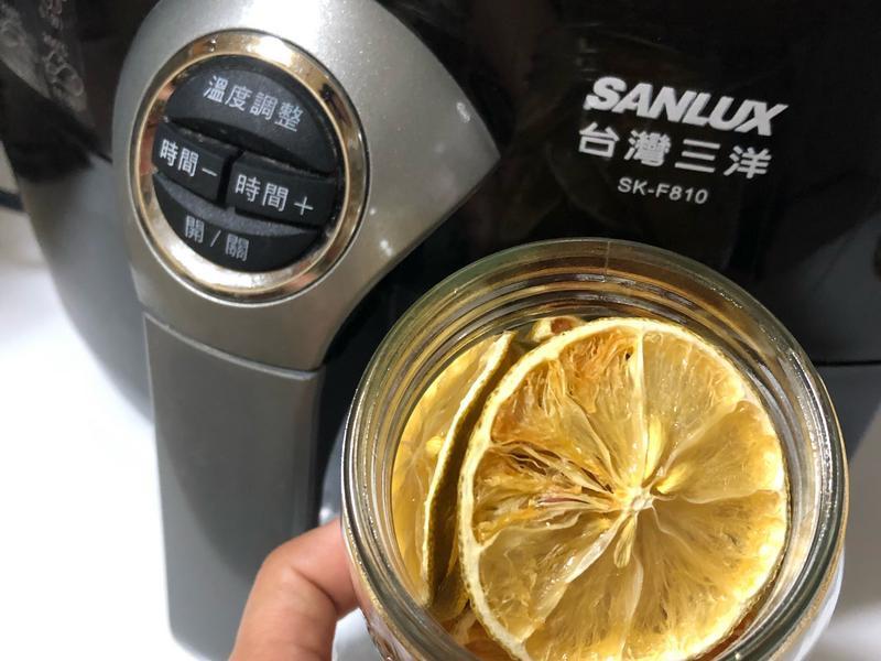 氣炸檸檬乾