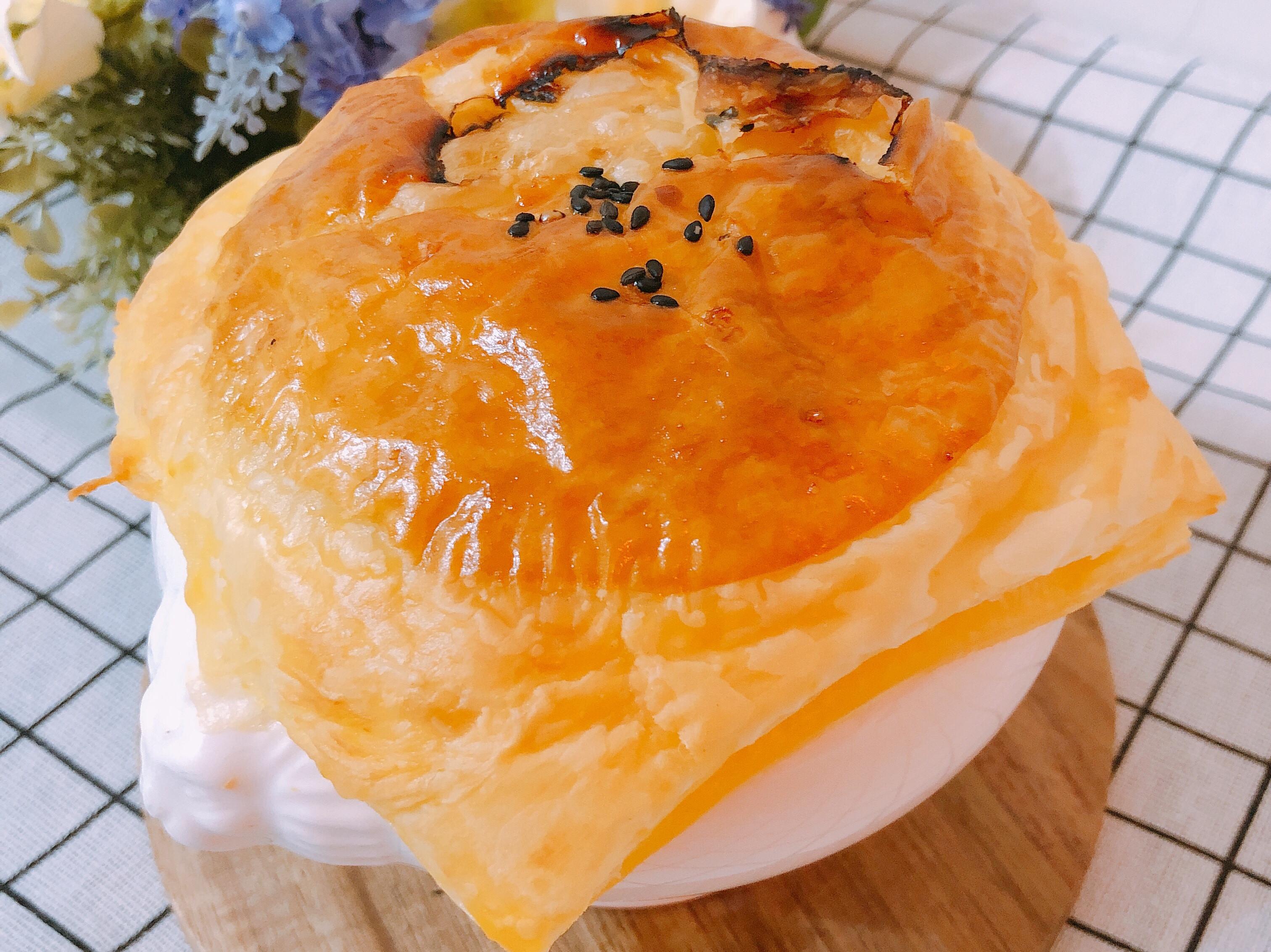 氣炸鍋料理-酥皮濃湯