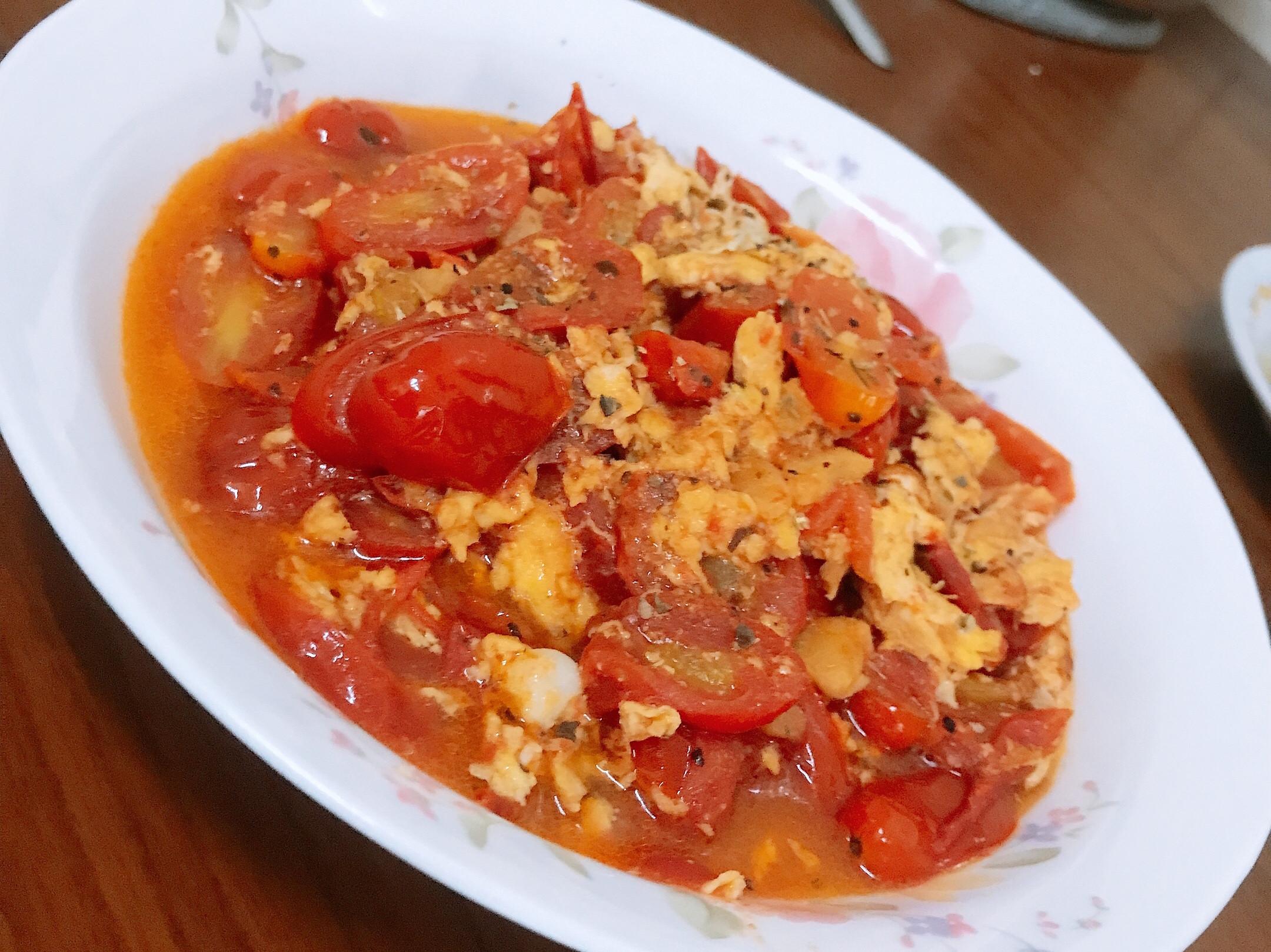 義式蕃茄炒蛋❤️