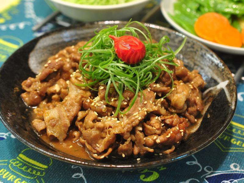 醬燒豬肉片(便當菜)
