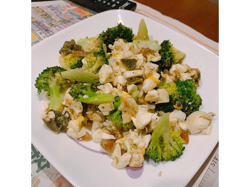 中式料理-金銀西蘭花🥦