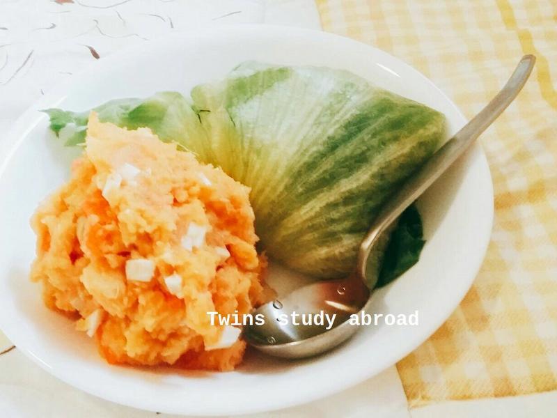 洋芋地瓜沙拉