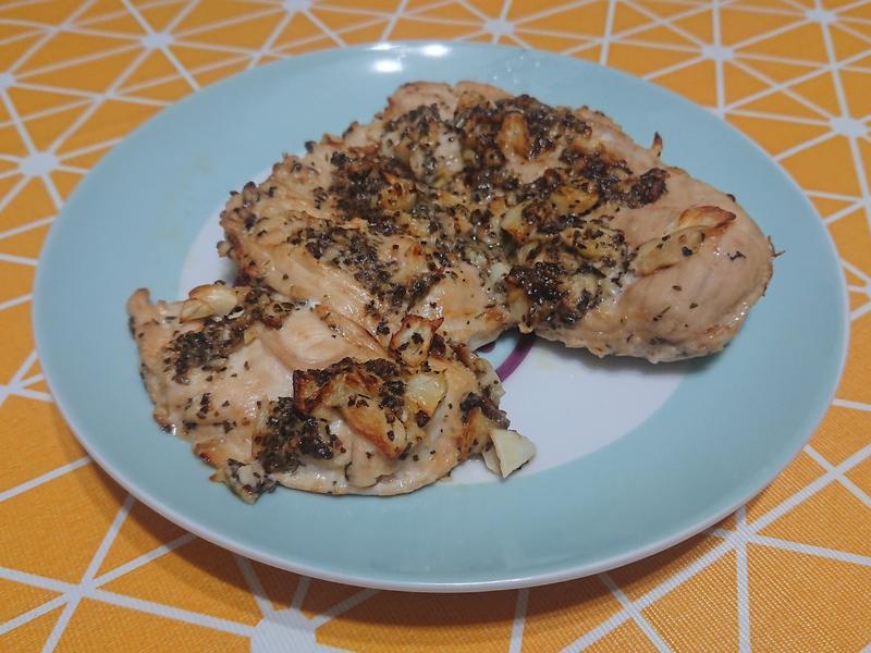 科帥氣炸鍋-奶油蒜香雞胸肉