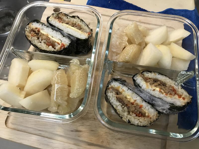 可外帶早餐~韓式海苔飯捲
