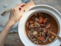 蕃茄蘑菇燉牛肉♡廚娘邱韻文