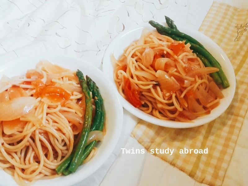 電鍋煮番茄義大利麵