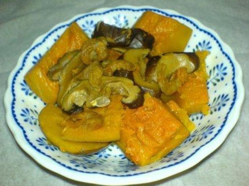 【四季江戶味之秋季料理】香菇蝦米燉金瓜