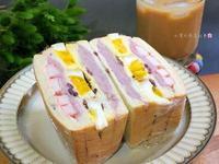 松葉蟹芋泥三明治