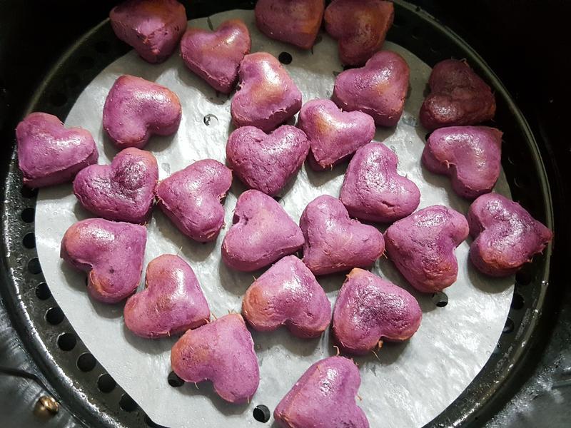 氣炸紫薯地瓜球(模型版)
