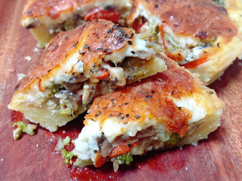 蘑菇蔬菜鹹派