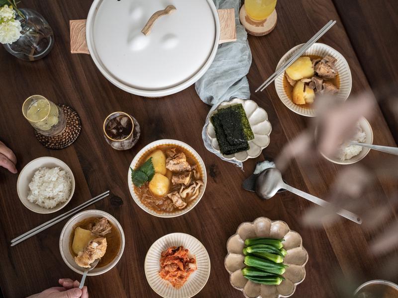 韓式紫蘇馬鈴薯排骨湯♡廚娘邱韻文
