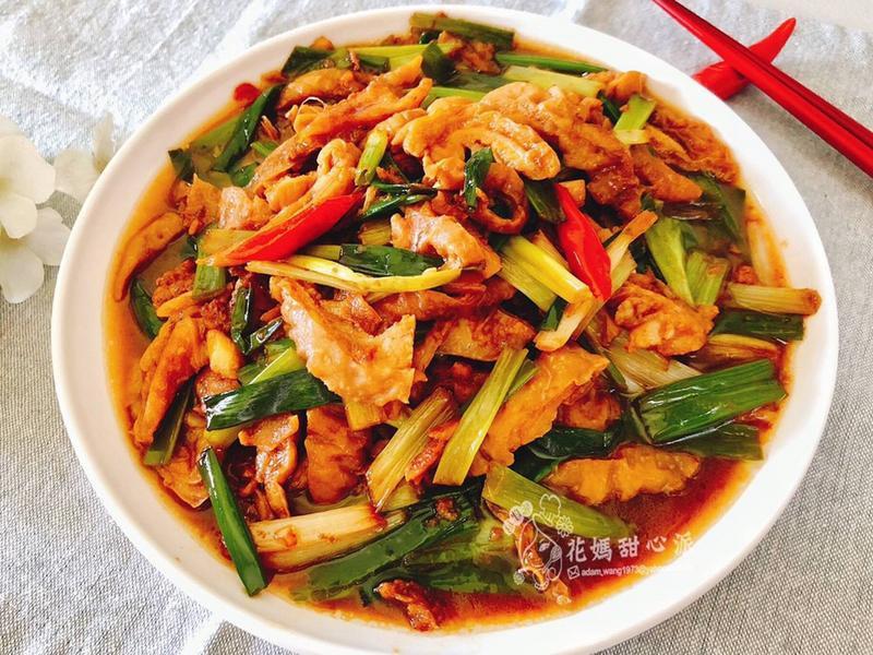 蔥爆肥腸(下酒菜)