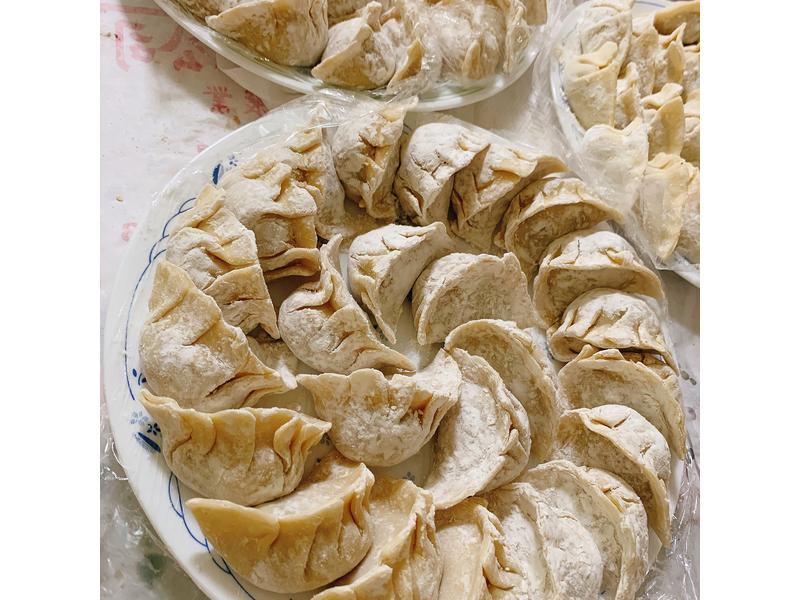 中式料理-絲瓜干貝豬肉水餃🥟🧂🥢