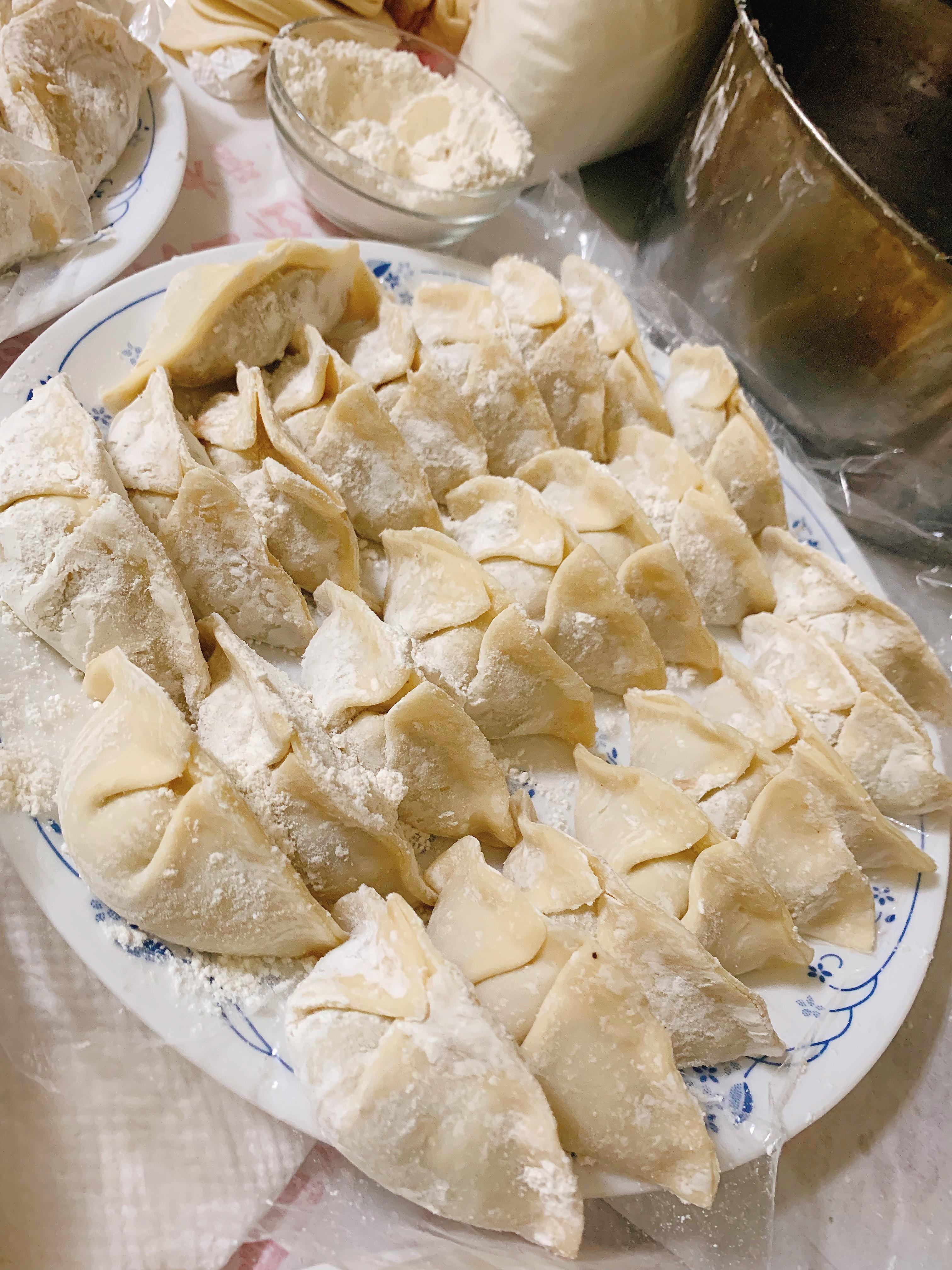 中式料理-香菇洋蔥豬肉水餃🥟🧂🥢