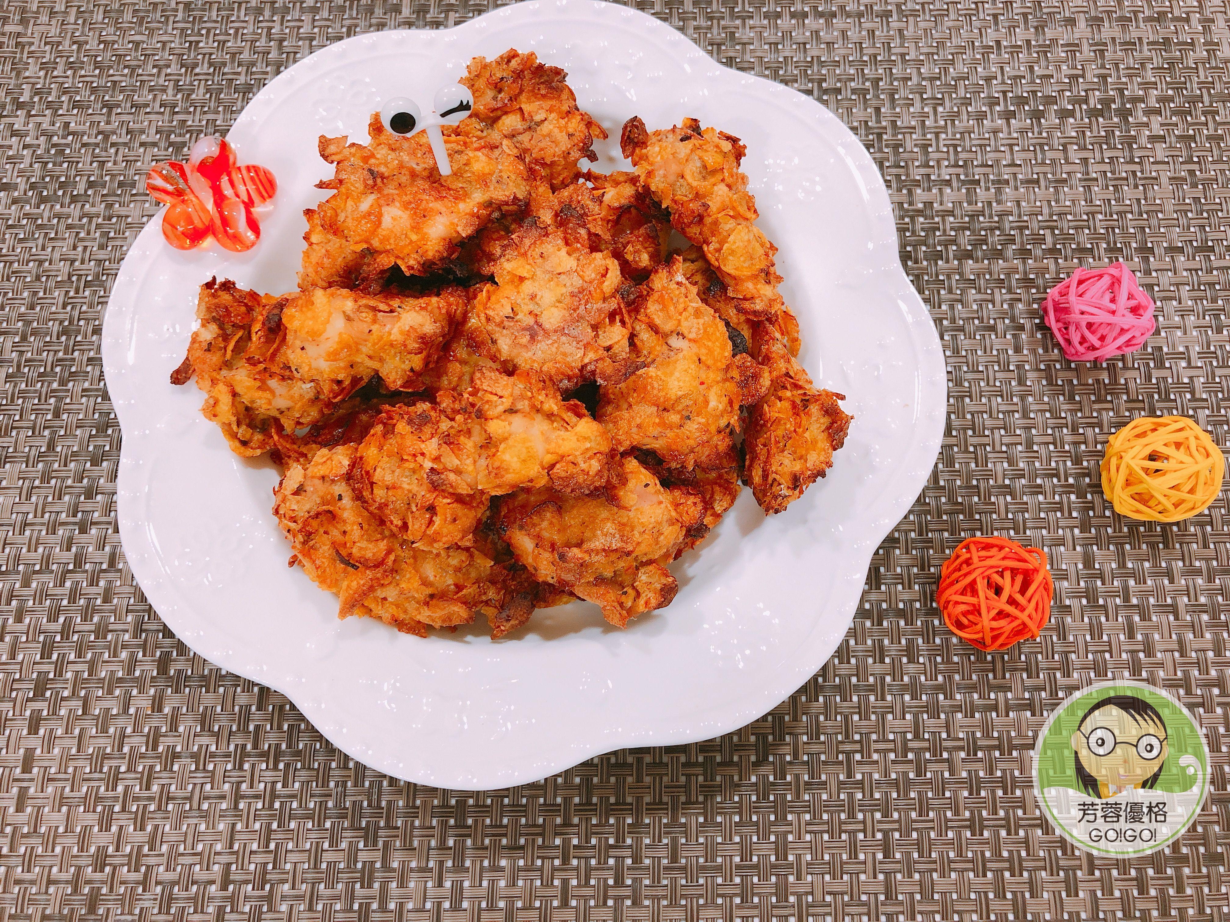 脆片香草雞柳條~水波爐料理