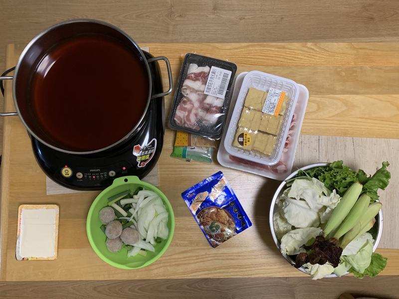 壽喜燒-兩人馬上開鍋