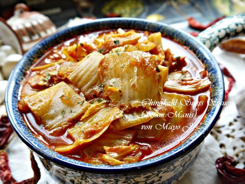 印尼 酸甜大白菜