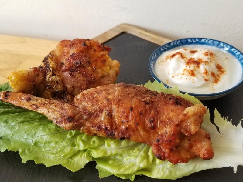 影音食譜: 雞翅包飯/雞腿包飯/呱呱包
