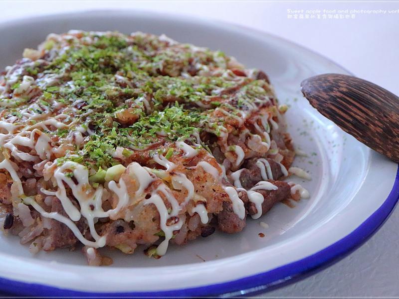 大板焼煎餅飯