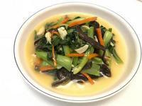👩🏻🍳青江菜炒木耳(可調素食)
