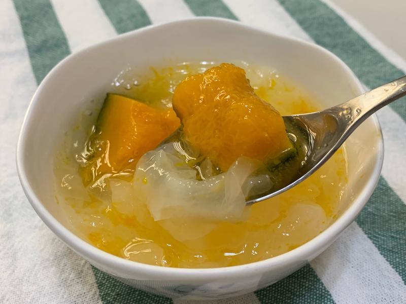 銀耳南瓜甜湯