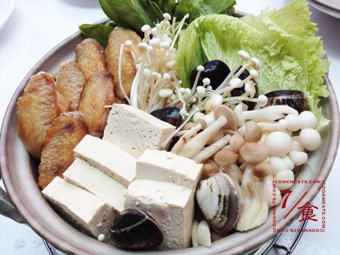 【7/食】雞翅味噌火鍋和梅子芝麻醬