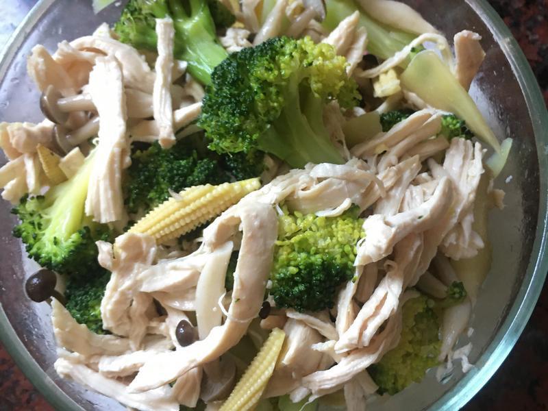 減醣料理 鹹水雞