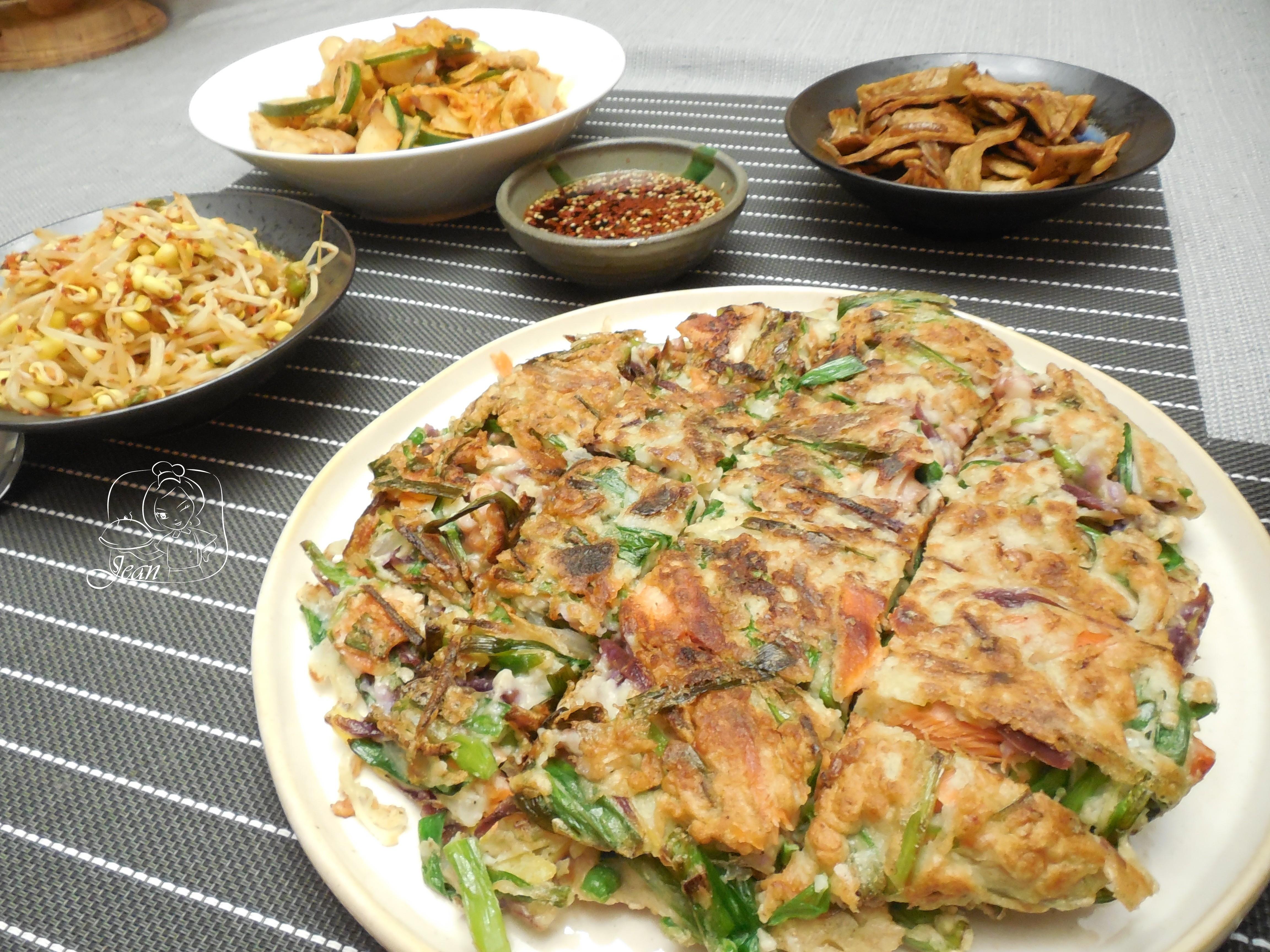 韭菜海鮮韓式煎餅