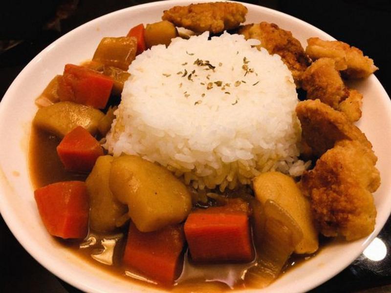 唐揚炸雞咖哩飯