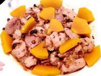 【南瓜豆豉蒸肉片】電鍋快速料理