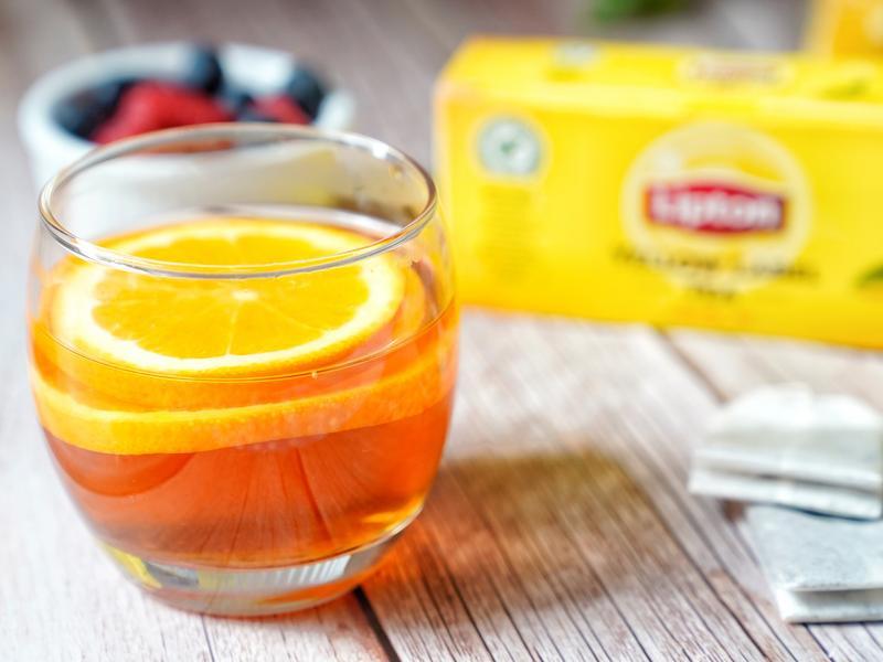 冷萃柳橙紅茶