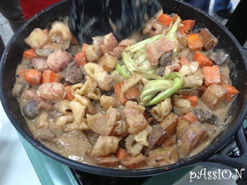 印尼料理。辣炒馬鈴薯Sambal goreng kentang(四人份)