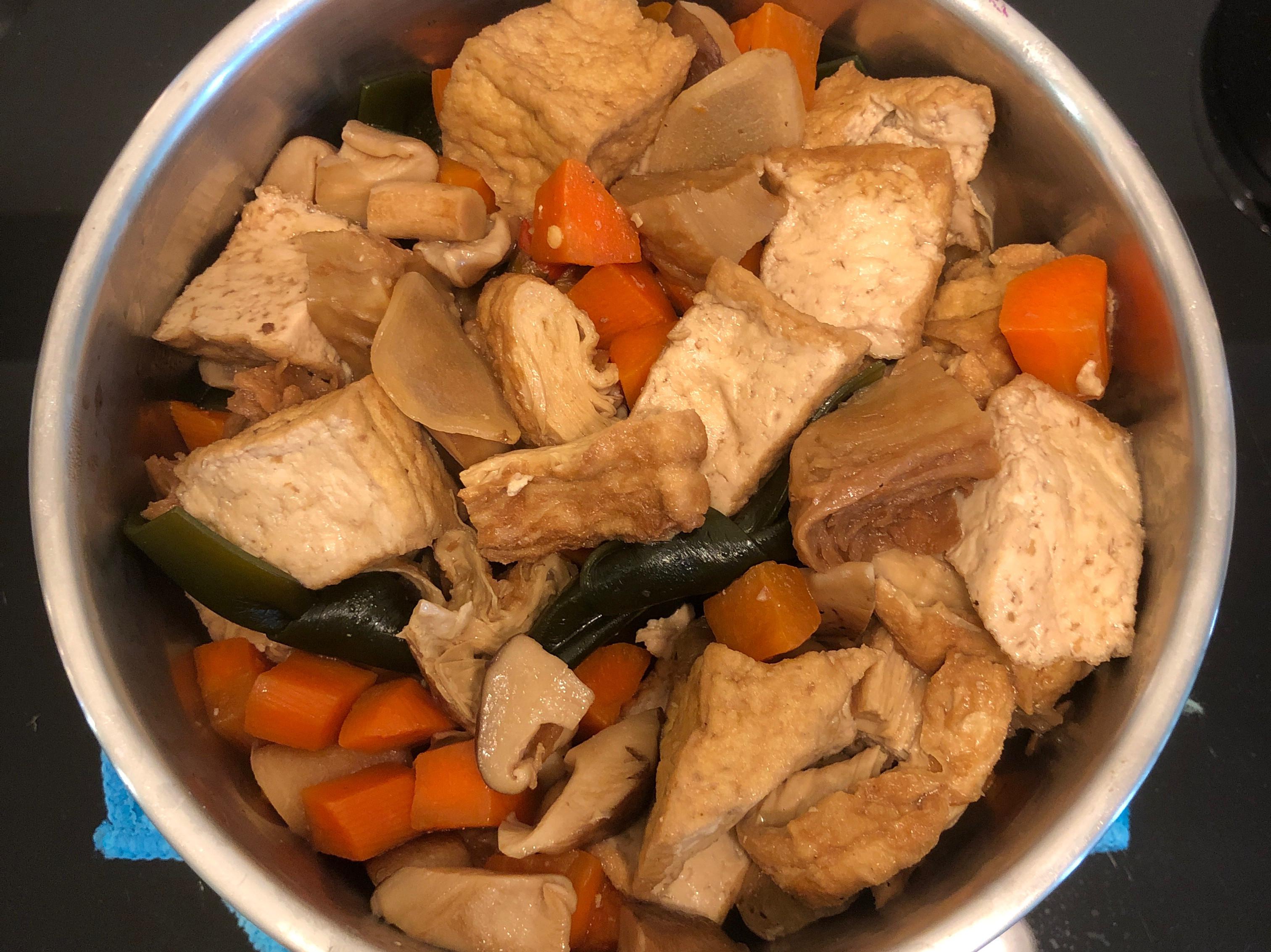 蛋白質滿分的魯蔬食,初一十五也能吃喔