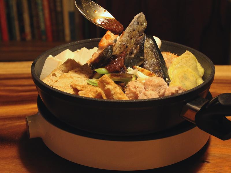 沙茶魚頭鍋
