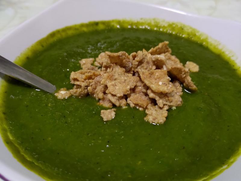 一鍋到底偽青醬之「洋蔥南瓜濃湯」