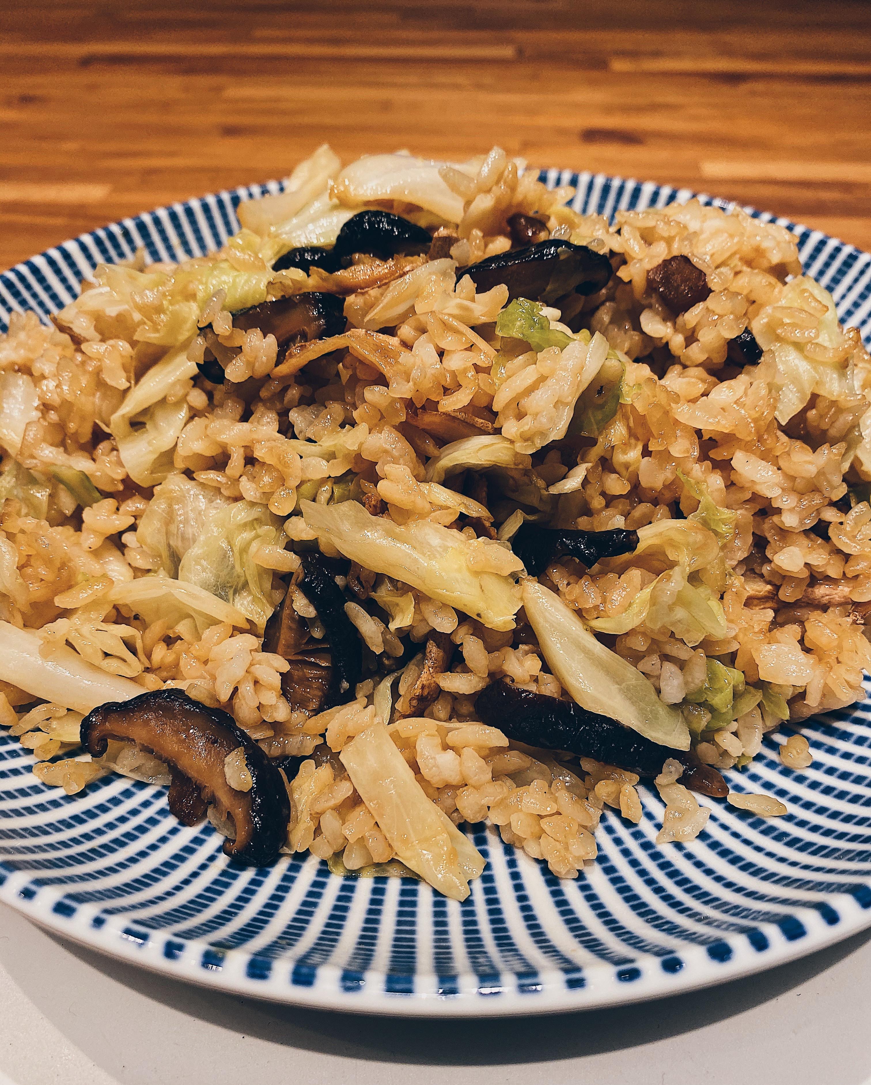 麻油菇菇飯
