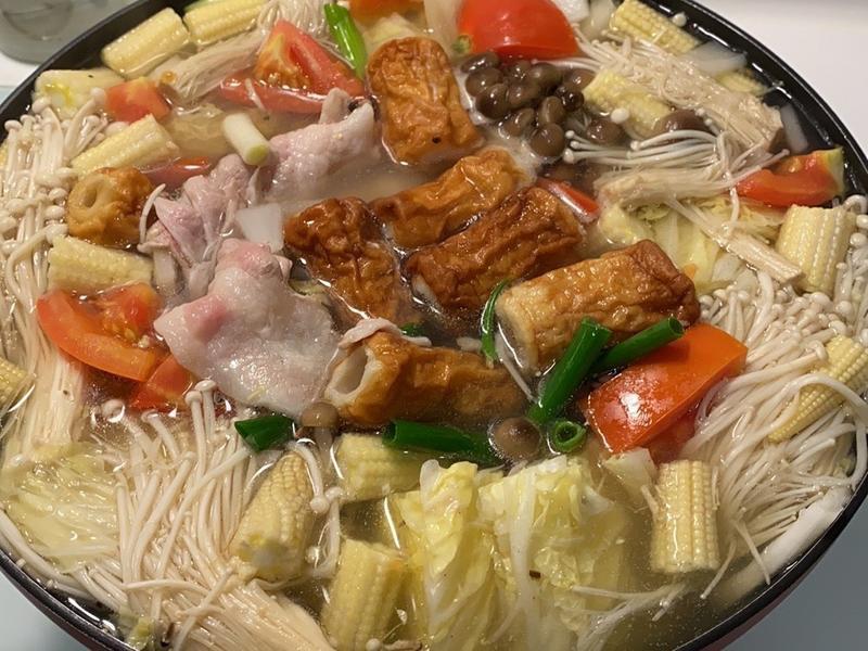 日式味增火鍋