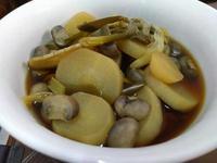 蘑菇燒蘿蔔