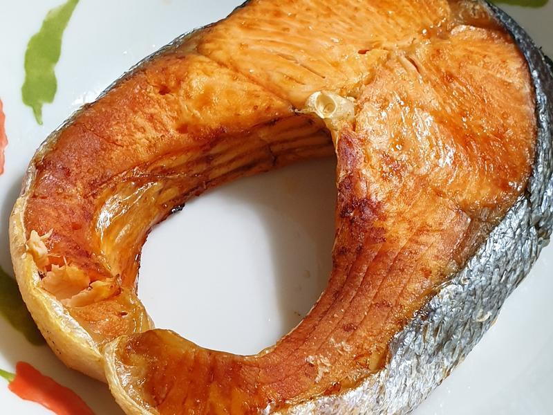 《氣炸系列》煎鮭魚