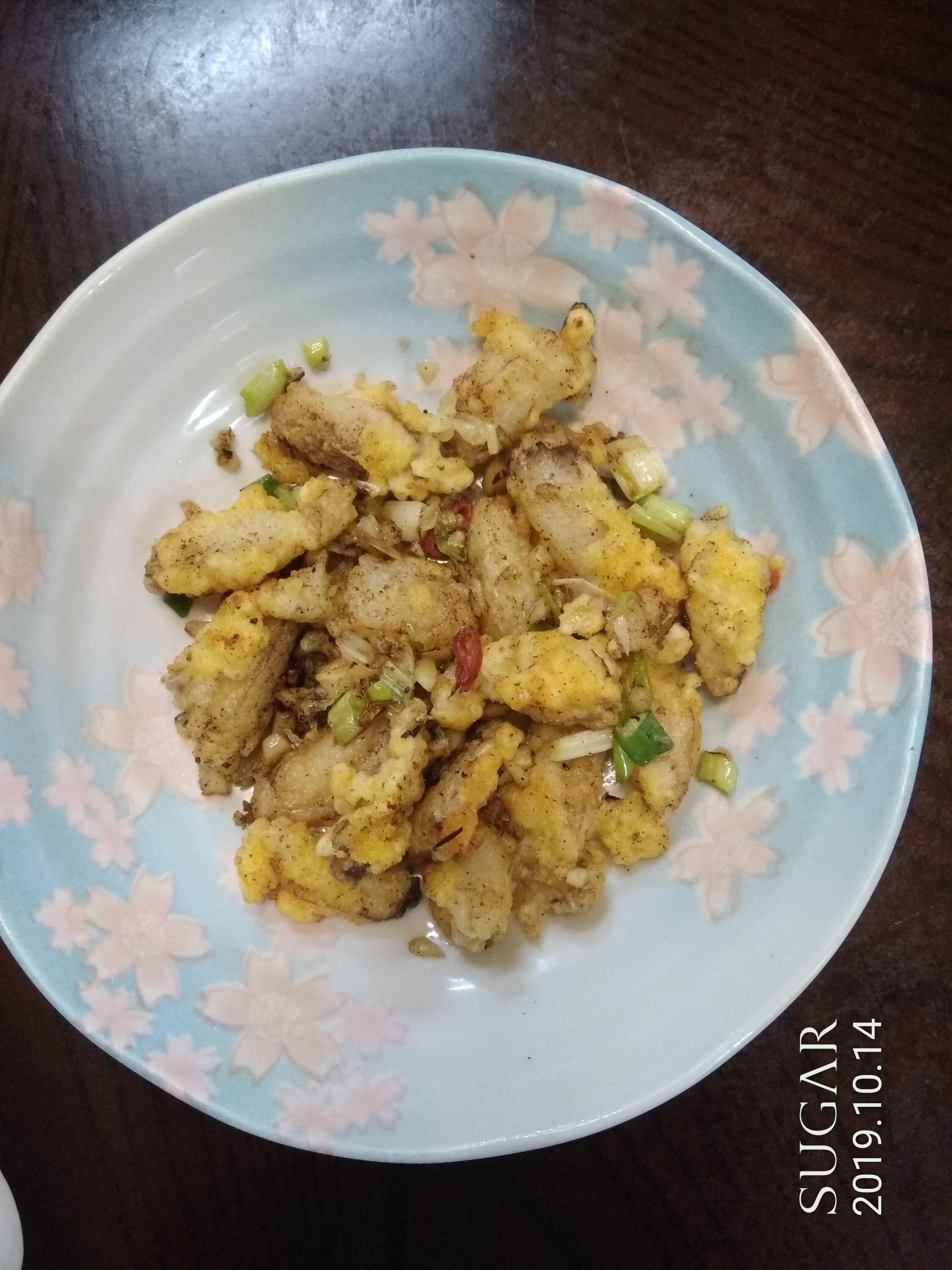 鹹酥蟹管肉