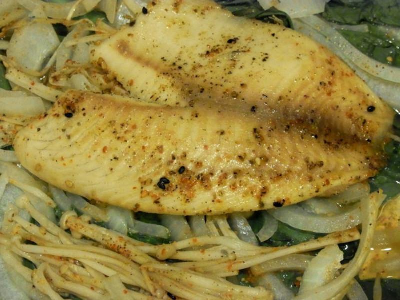日式清酒蒸鯛魚