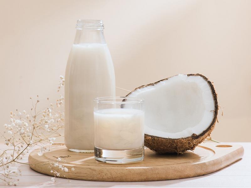 銀耳白木耳椰奶