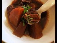 味噌牛肉煮 (使用快鍋)