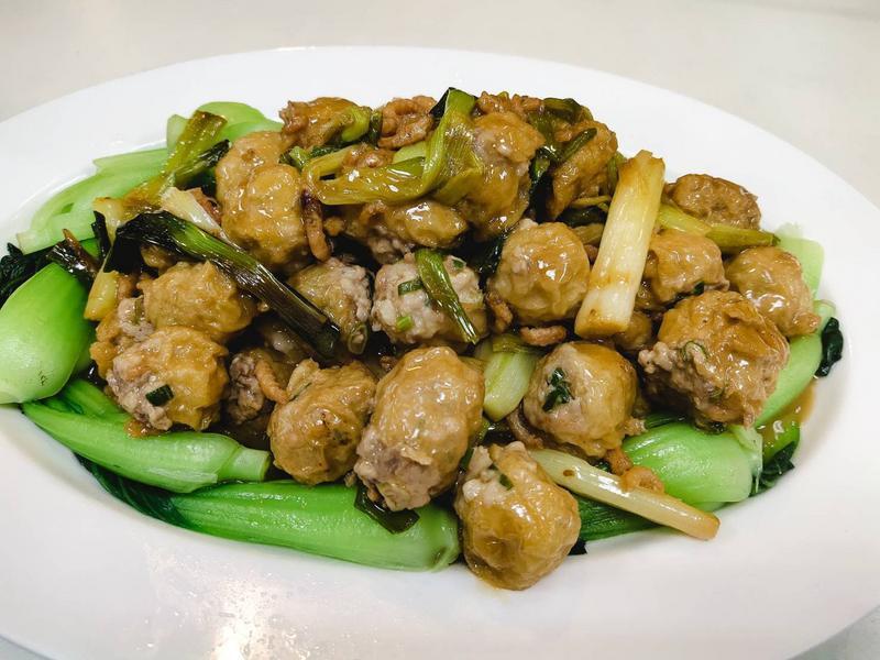 江菜烤麵筋